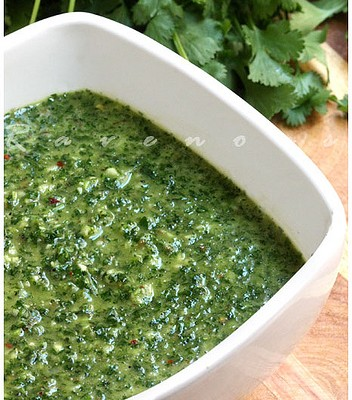 Chimichurri is the new pesto.